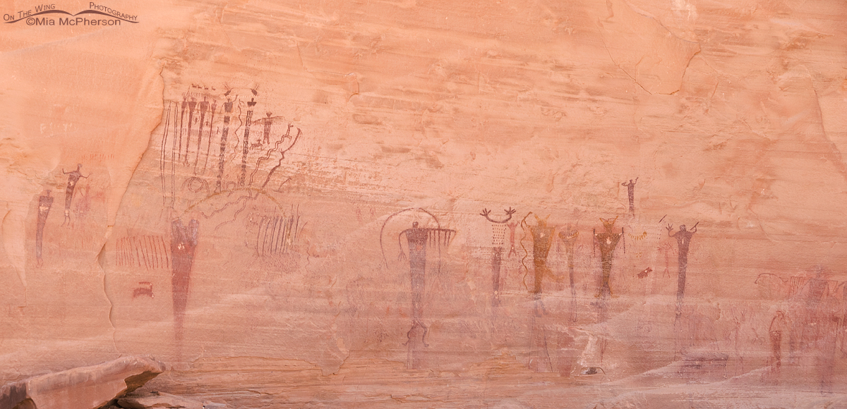 Buckhorn Draw Pictograph Panel - An area rich in cultural history
