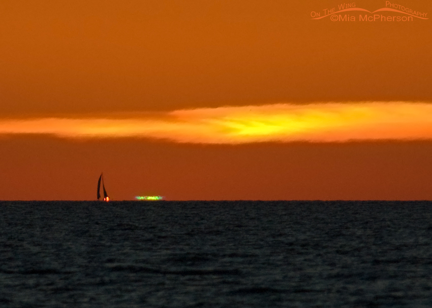 Green Flash from Fort DeSoto