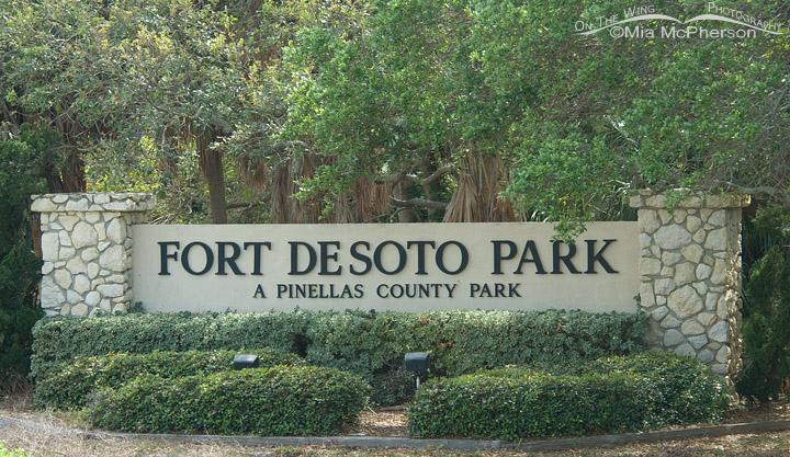 Fort De Soto Park entrance
