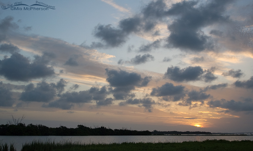 Sunrise over the lagoon at Fort DeSoto