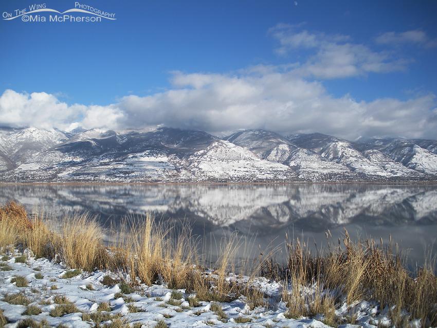 Snow covered Wastach Range