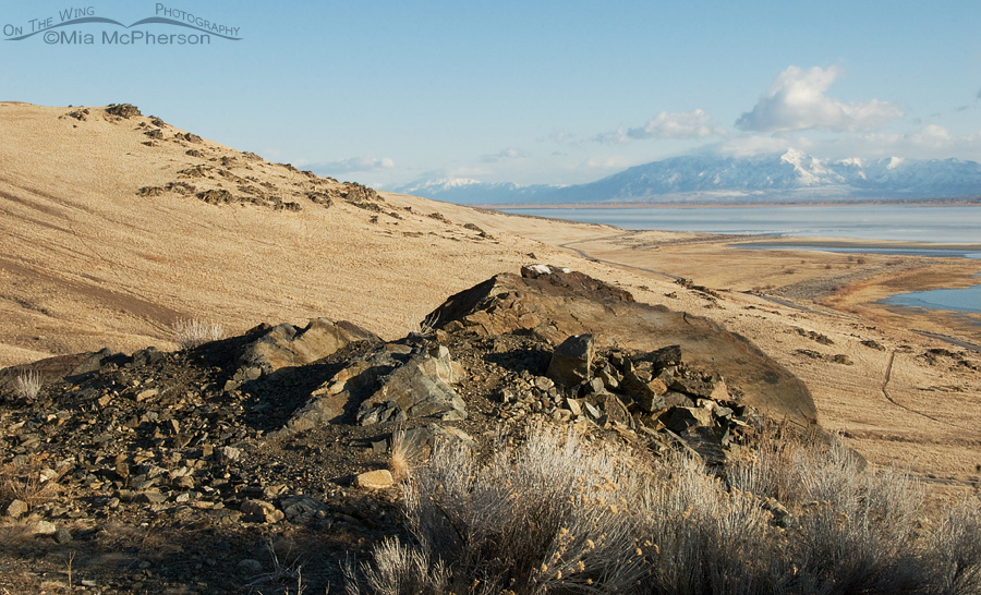 View from Frary Peak Trailhead, Antelope Island State Park
