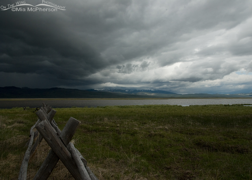 Stormy Sky over the Lower Lake of Red Rock Lakes National Wildlife Refuge
