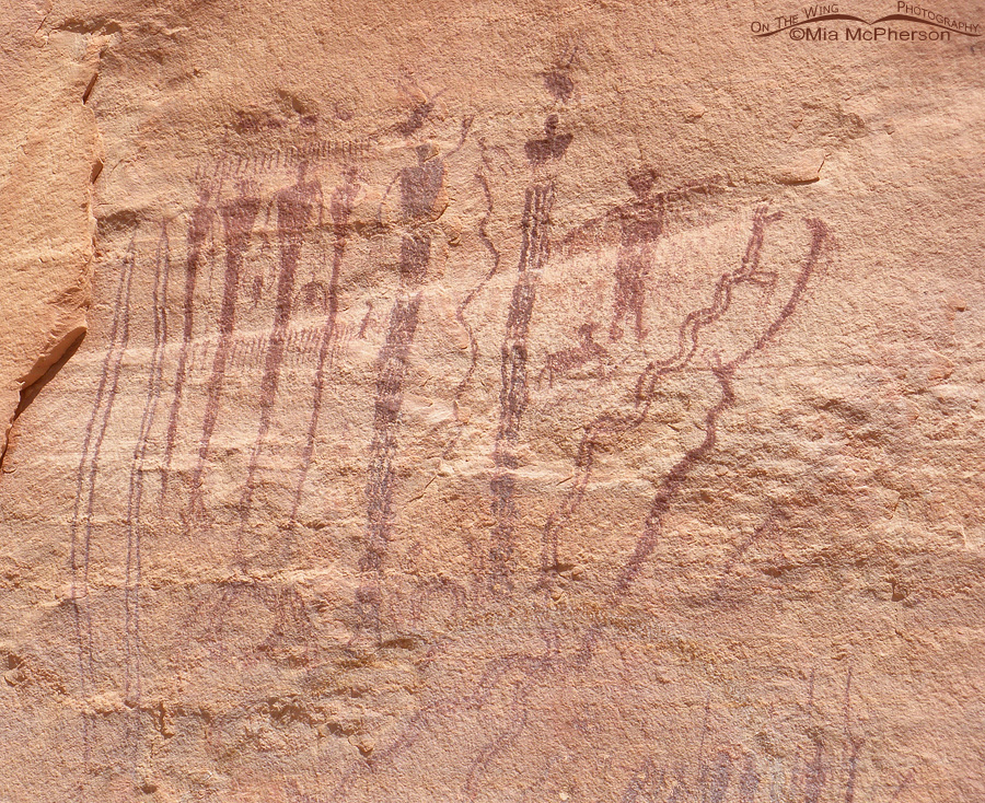 The Buckhorn Panel Pictograph, San Rafael Swell, Utah